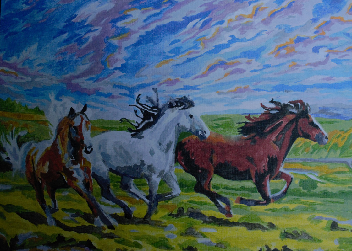 Lena Deli. Wild horses