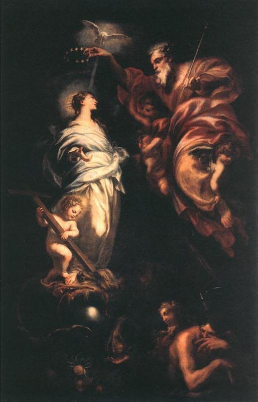 Доменико Пиола. Непорочное зачатие