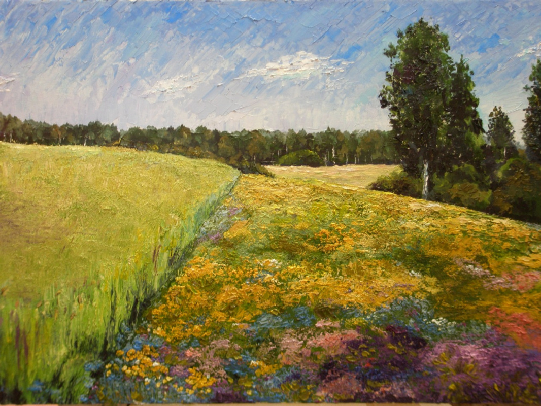 "Olga Stepanovna Voronina. ""Field"""