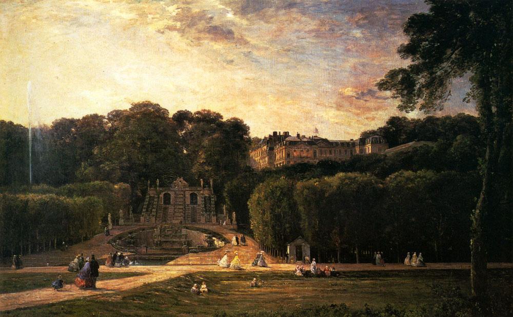 Charles-Francois Daubigny. Park