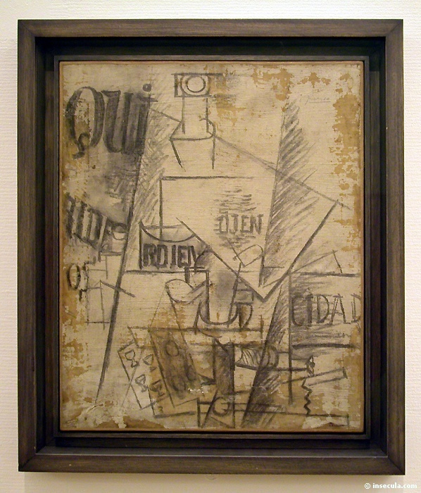 Пабло Пикассо. Натюрморт Qui