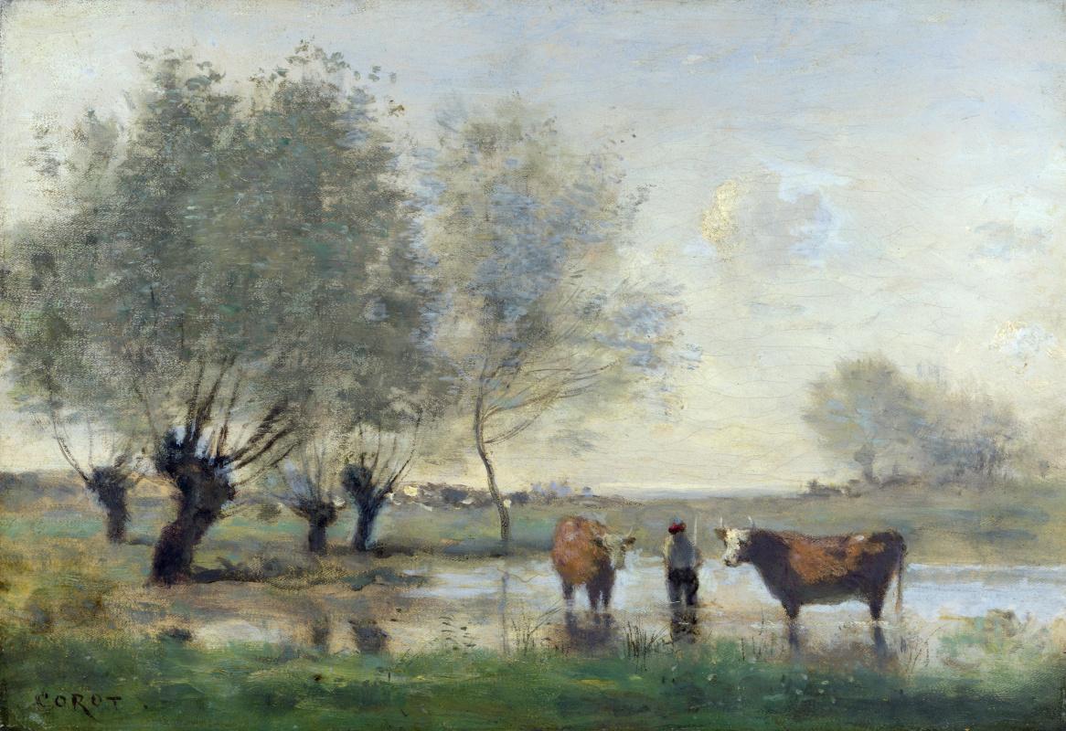 Камиль Коро. Коровы