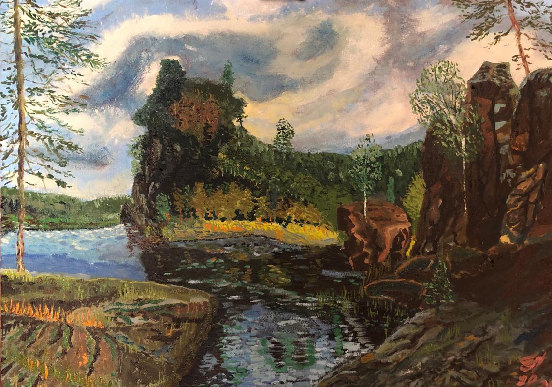 Sergey Vladimirovich Sebini. Island Marvelous. Balaam. Variation on a theme by Alexander Afonin.