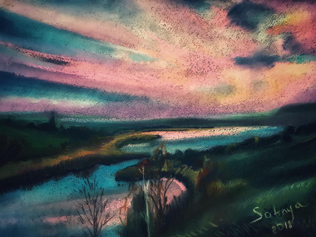 Andrey Valeriovich Sotnichenko. What autumn is is the sky ....
