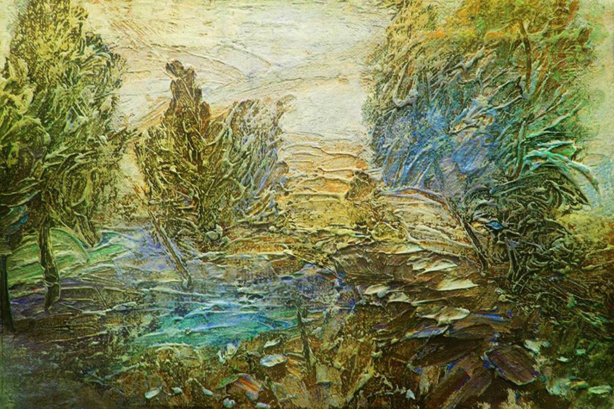 Alexander Ivanovich Vlasyuk. June herbs