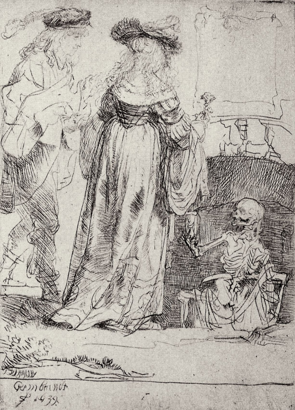 Rembrandt Harmenszoon van Rijn. Love and Death