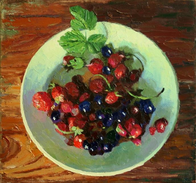 Mikhail Rudnik. Berries garden