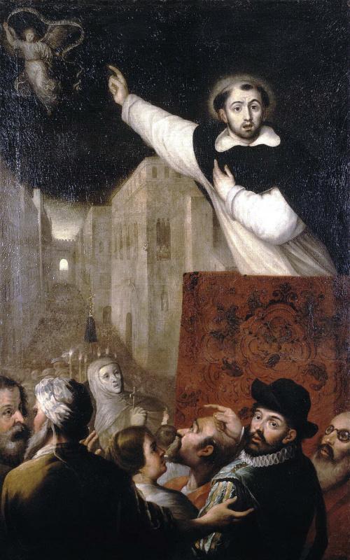 Франсиско Рибальта. Проповедь Сан Висенте Феррера