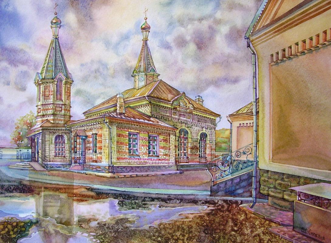 Снежана Казимировна Витецкая Viteckaja. Church of V.K. Vladimir in Grodno