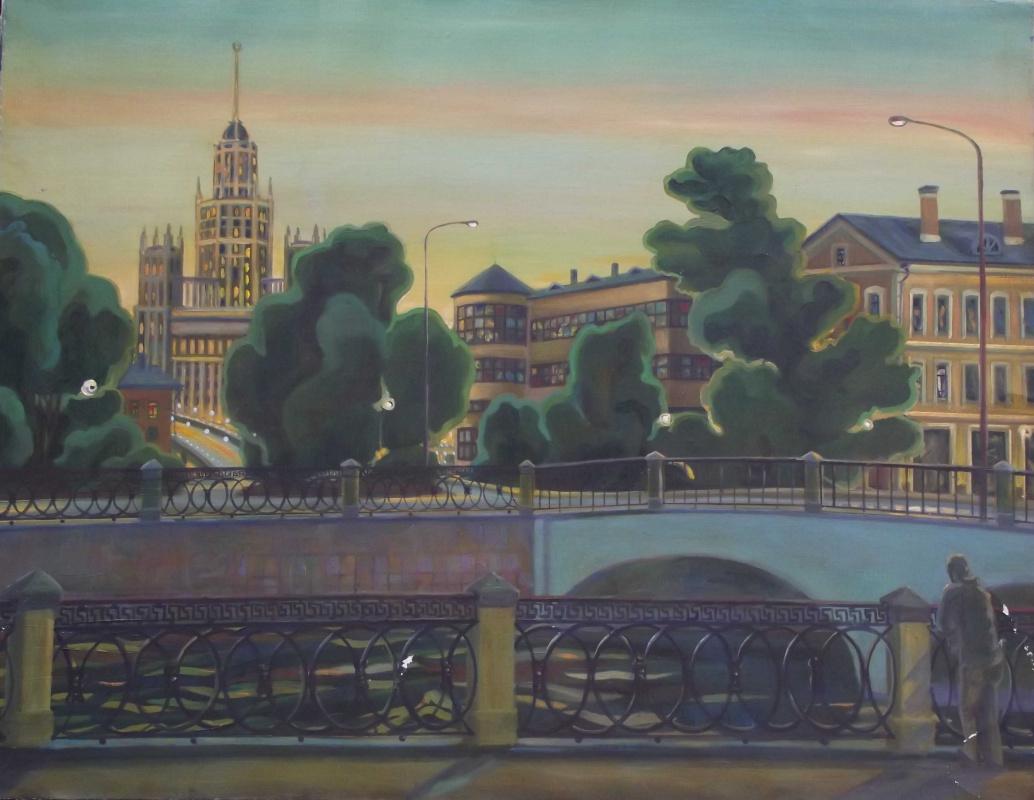 """Alexey Viktorovich Gilyarov. """"Moscow. Cinema Illusion »Moscow. Cinema illusion"""