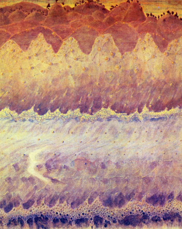 Mikalojus Konstantinas Ciurlionis. Sonata of the sea. Allegro