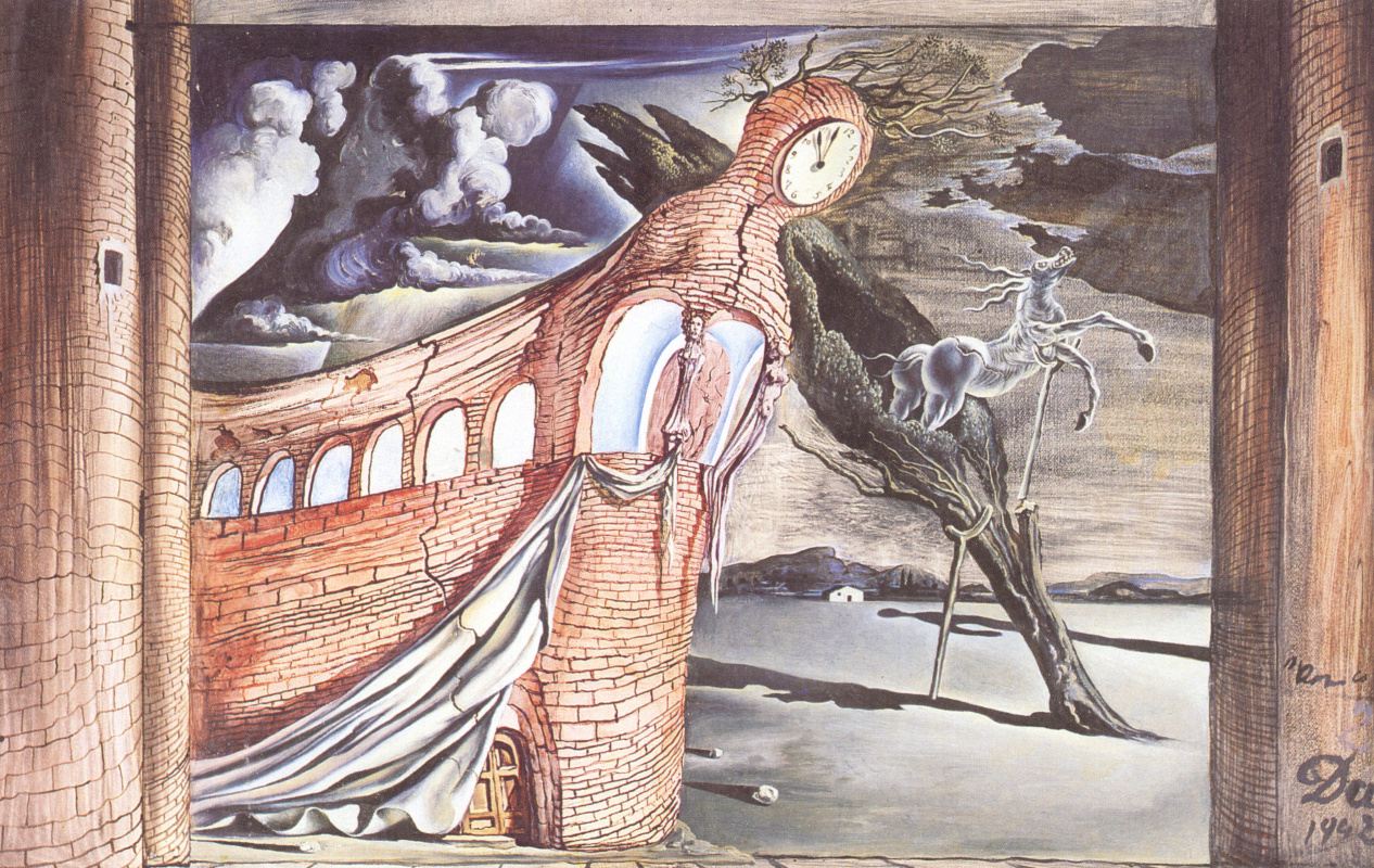 """Salvador Dali. The scenery for """"Romeo and Juliet"""""""