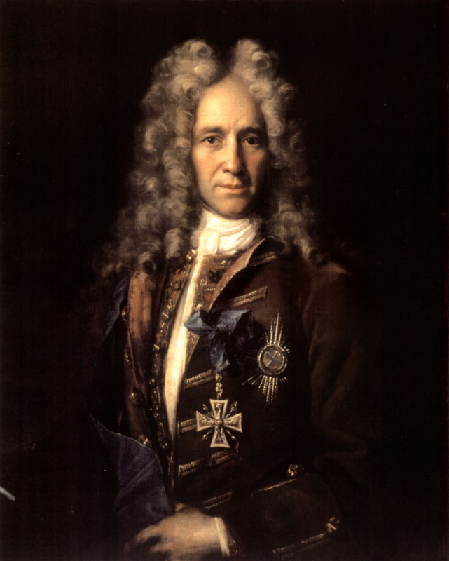 Портрет государственного канцлера графа Гавриила Ивановича Головкина