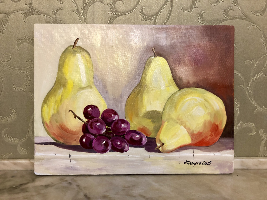 Maria Grekova. Grapes and pears