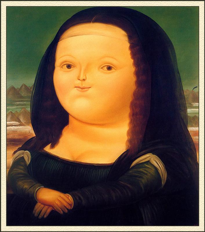 Fernando Botero. Monaliza