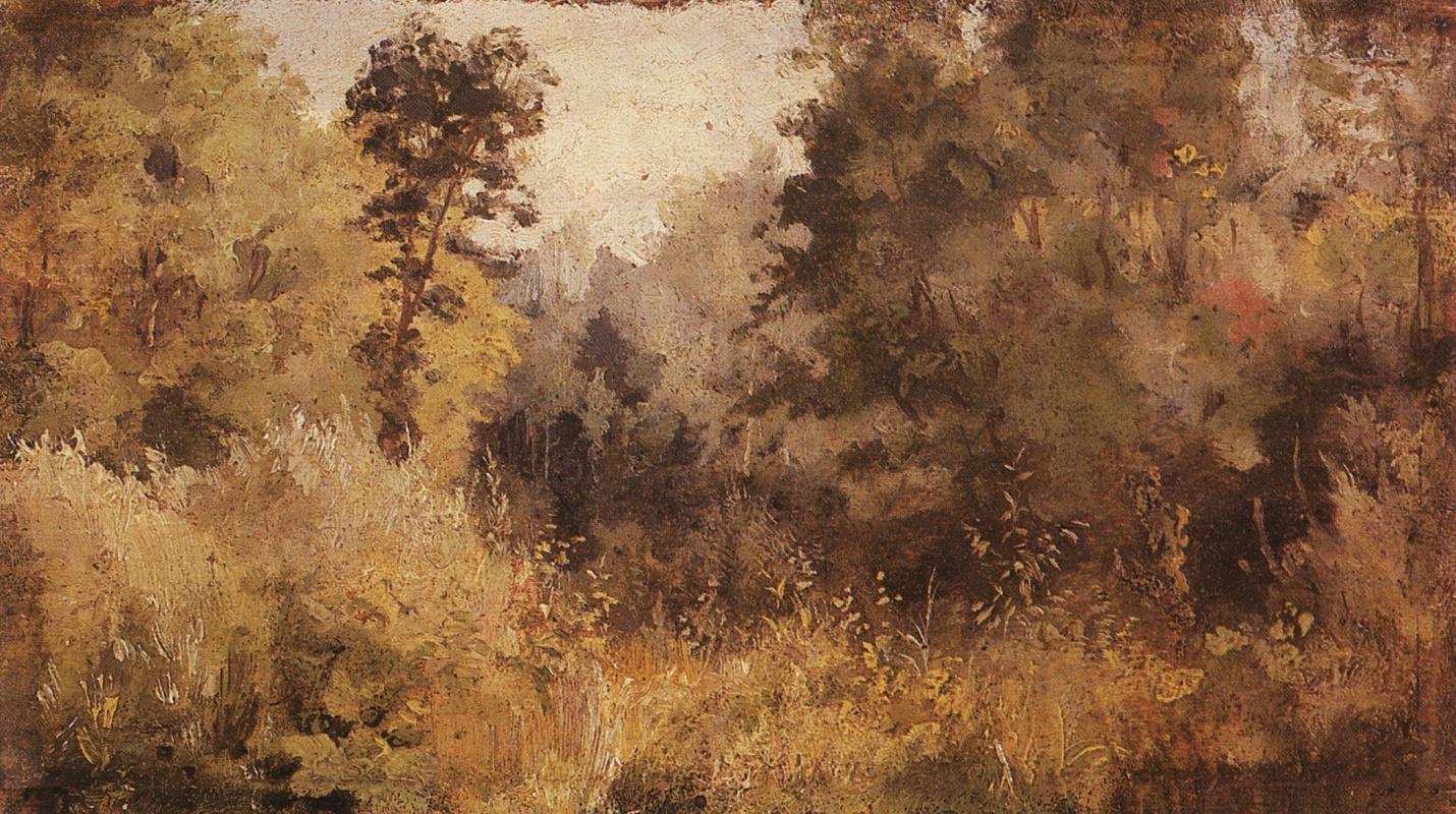 Vasily Polenov. The Park Olshanka