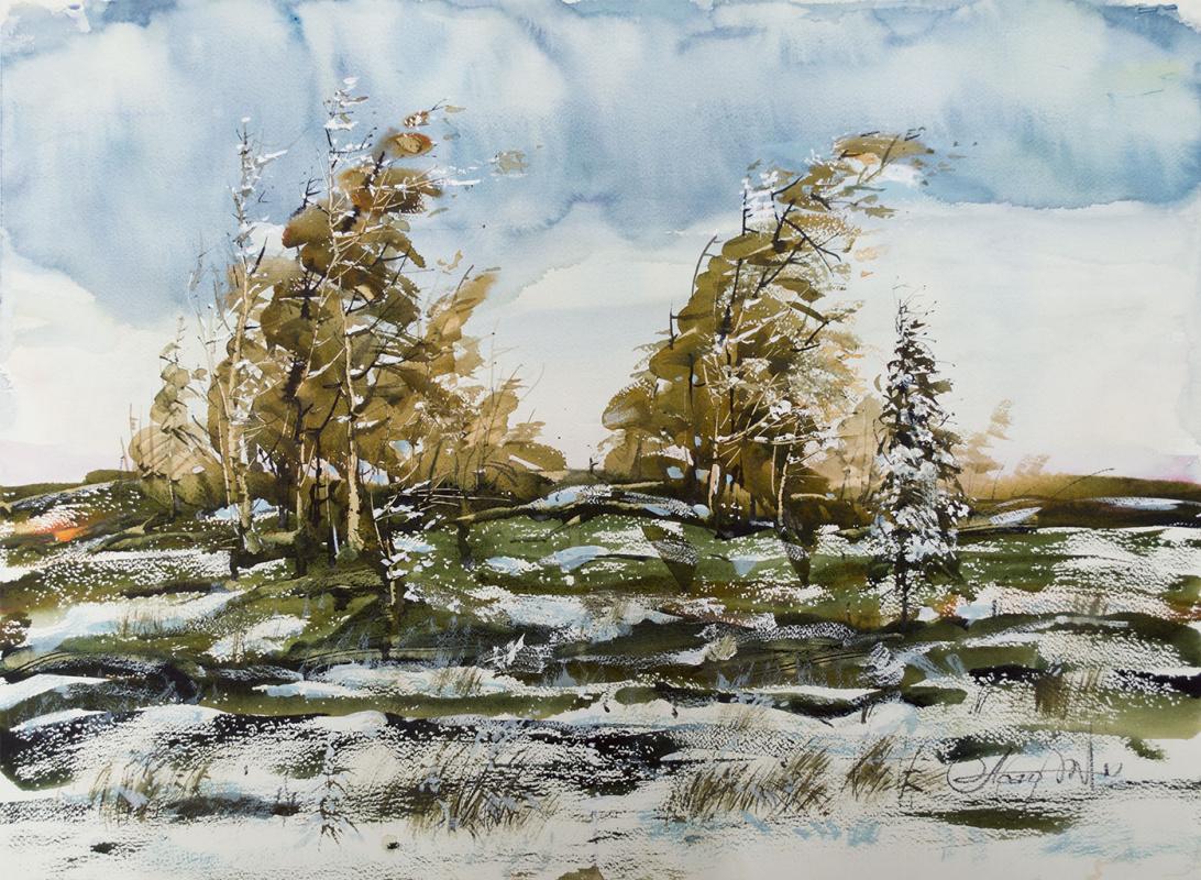 "Victor Alexeyevich Asadchikov. ""Wind of autumn"""