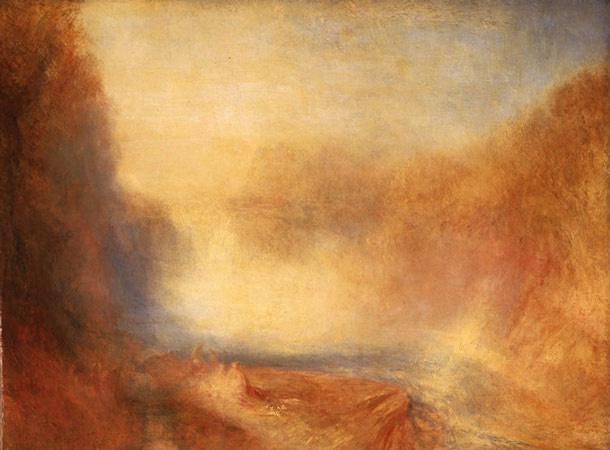 Joseph Mallord William Turner. Falls Of Clyde