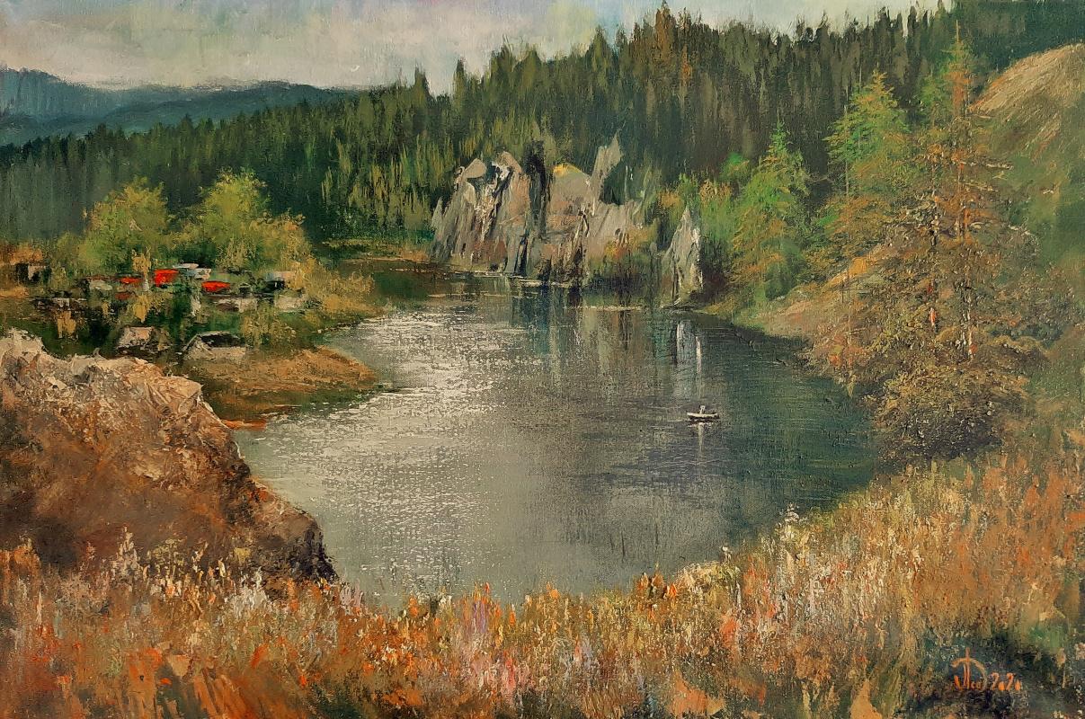 Alexander Alekseevich Lednev. Chusovaya in the village of Chusovoy