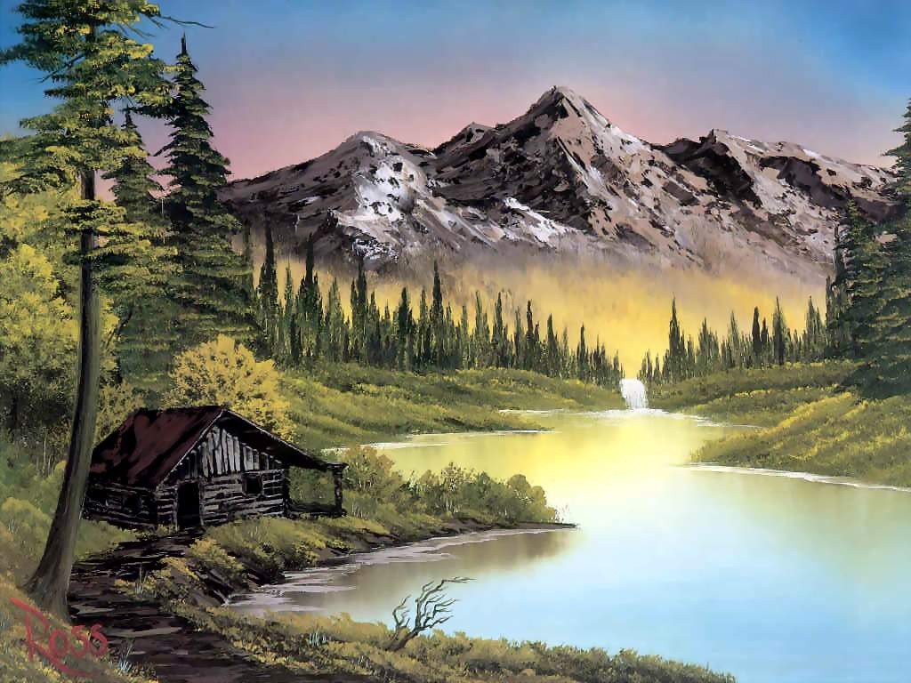 Mountain Resort By Bob Ross History Analysis Facts