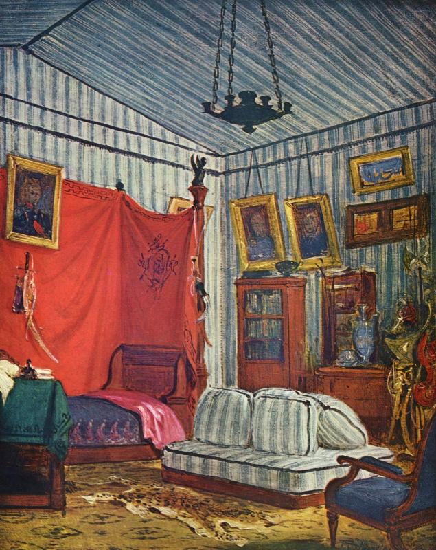 Eugene Delacroix. Bedroom count de mornas
