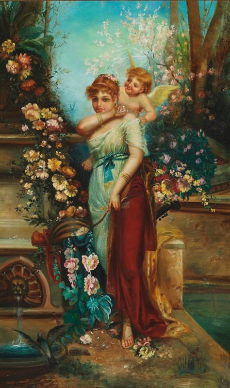 Ханс Зацка. Венера и Амур