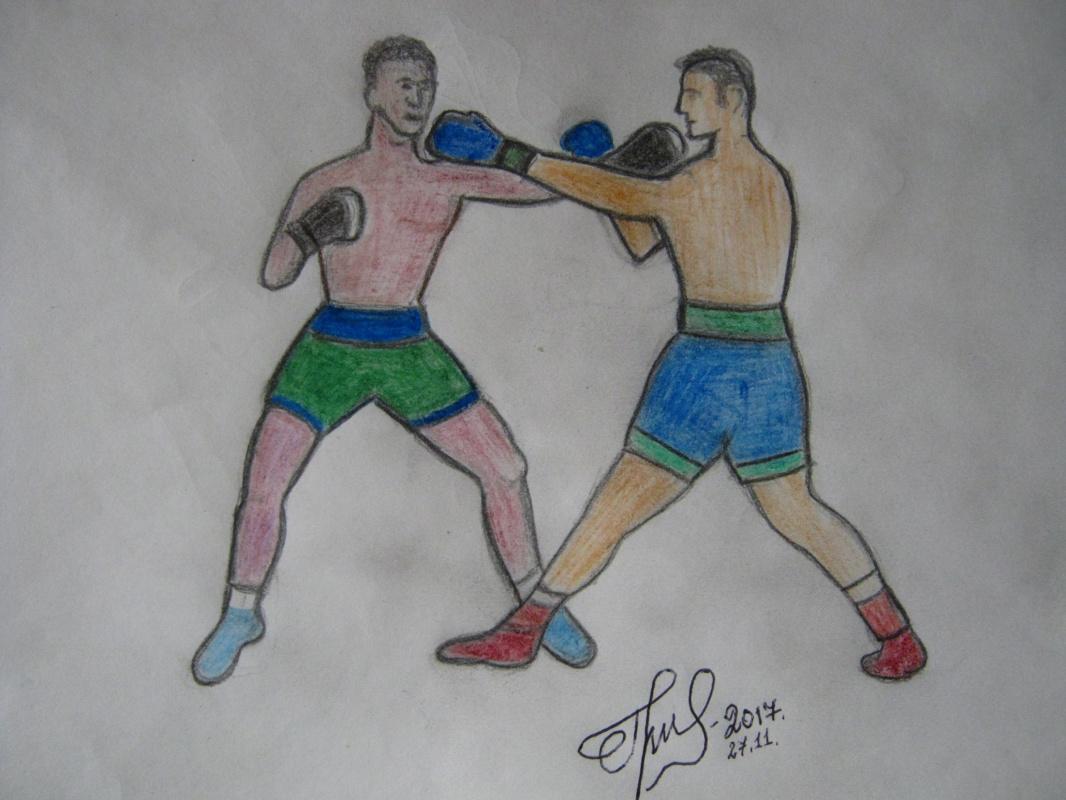 "Alexey Grishankov (Alegri). ""Бокс"" (""Boxing"")"