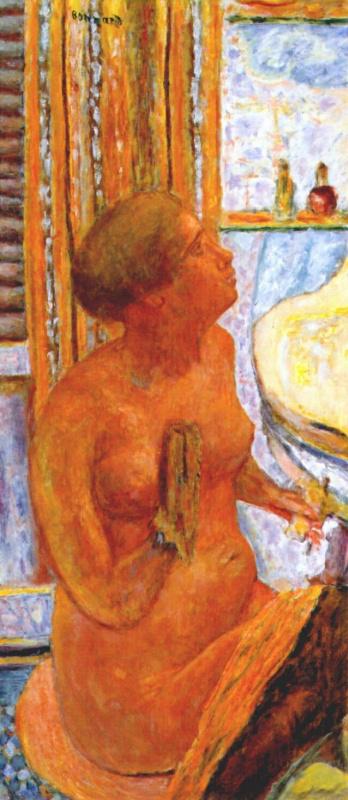 Пьер Боннар. В ванной комнате