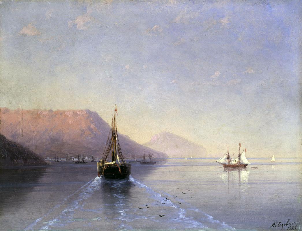 Фото парусники в море