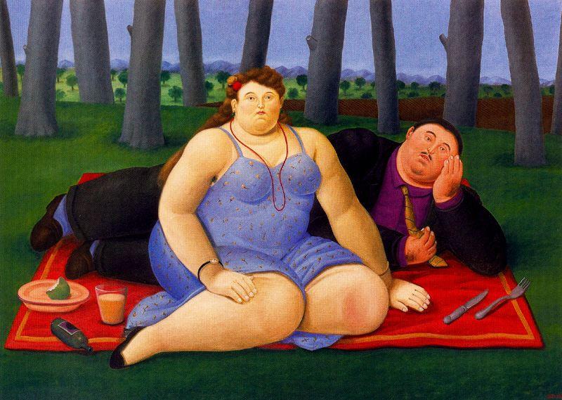 Fernando Botero. Picnic