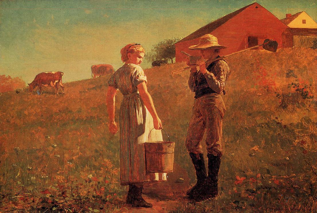 Winslow Homer. Noon. Meeting