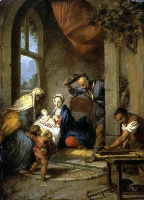 Никола Флейгельс. Святое Семейство
