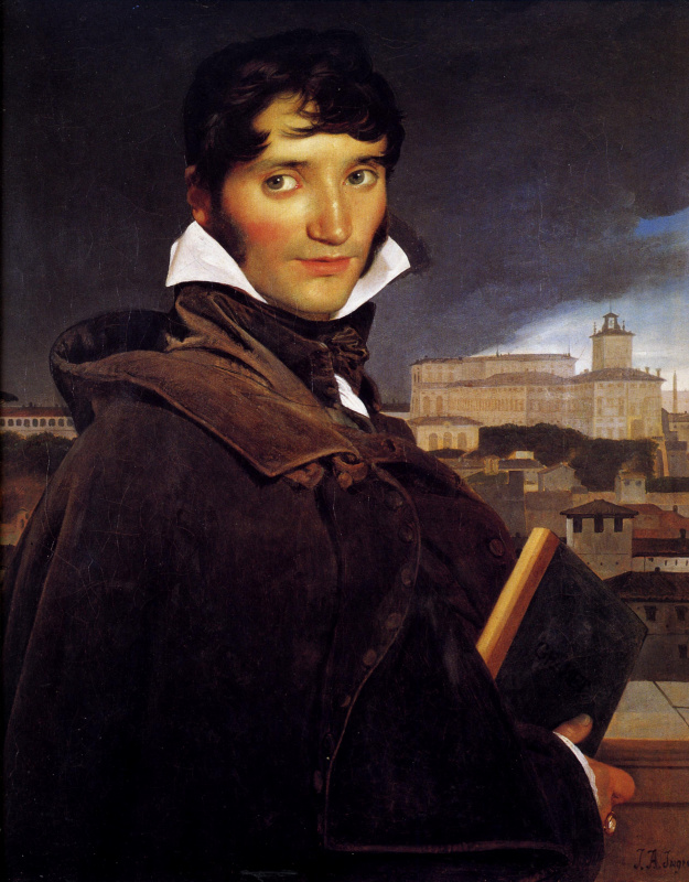 Жан Огюст Доминик Энгр. Франсуа Мариус Гране