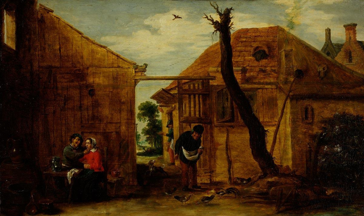 David Teniers the Younger. Country lord