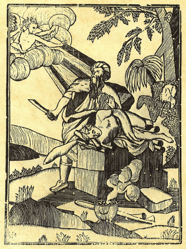 Карл Густав Берлинг. Жертвоприношение Авраама