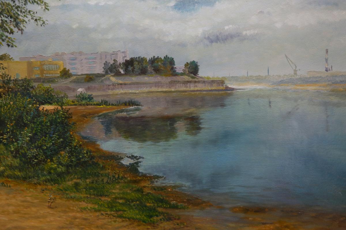Геннадий Думовов. Вид на Дзержинский затон