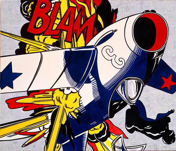 Roy Lichtenstein. Blam!