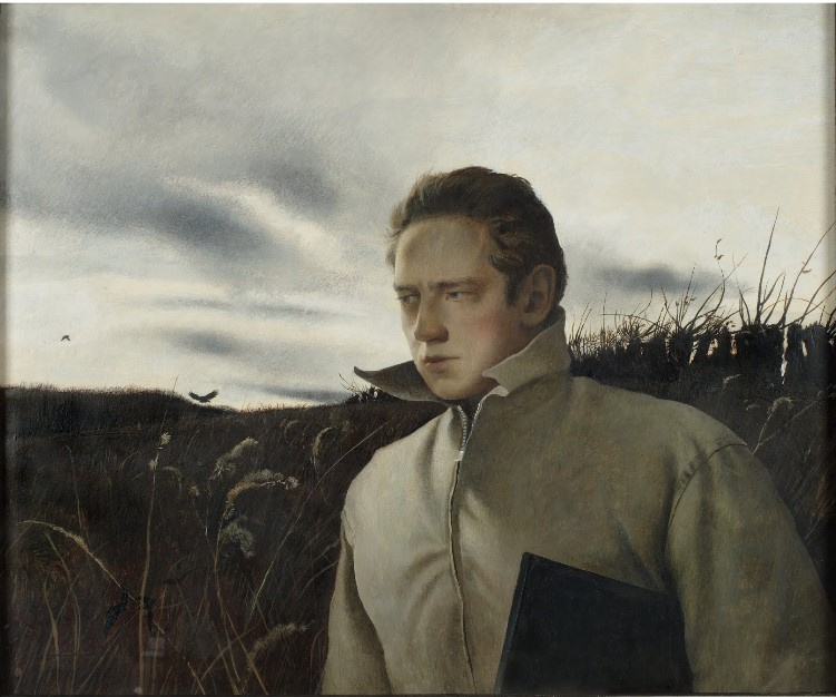 Andrew Wyeth. Self-portrait