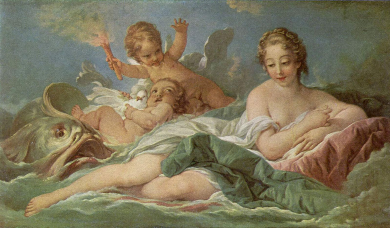 Francois Boucher. The Birth Of Venus