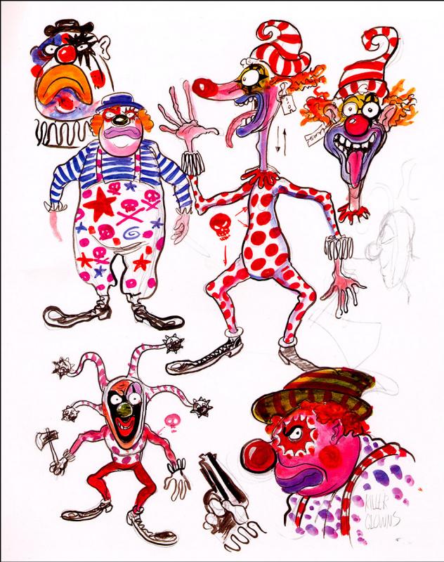 Квин Ай. Клоуны-убийцы