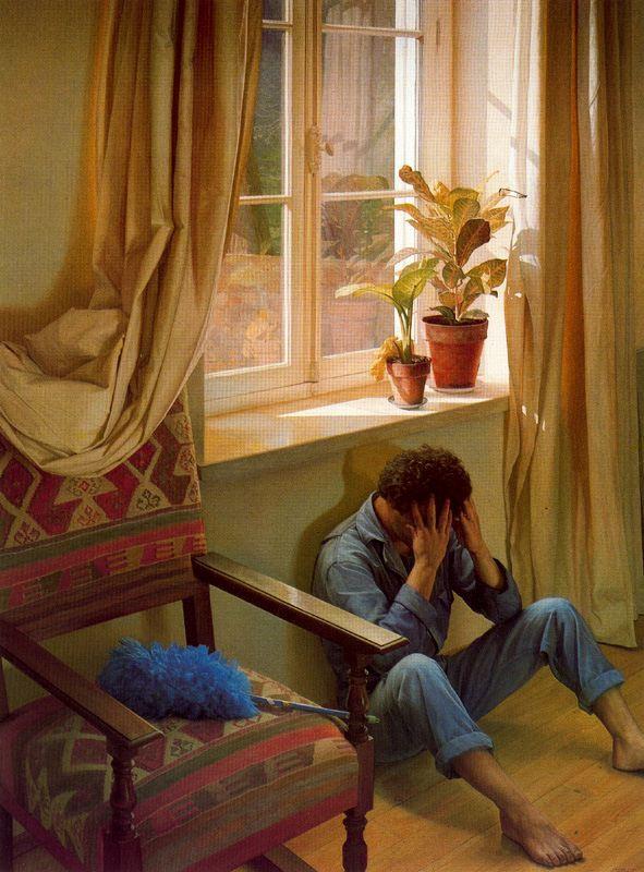 Claudio Bravo. Despair