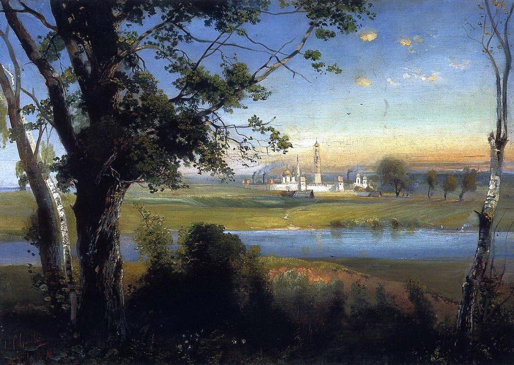 Алексей Кондратьевич Саврасов. Новодевичий монастырь