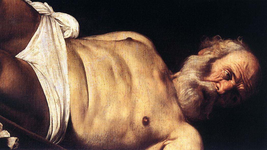 Michelangelo Merisi de Caravaggio. The Crucifixion Of St. Peter. Fragment