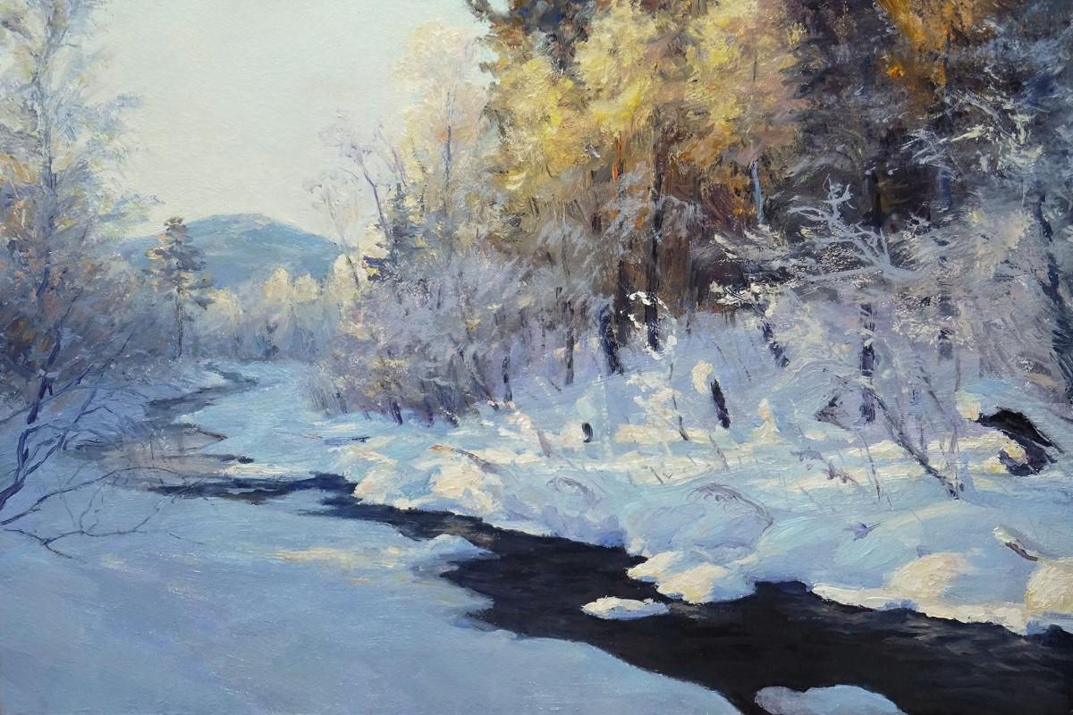 Igor Lemekhov. In the snowy shores