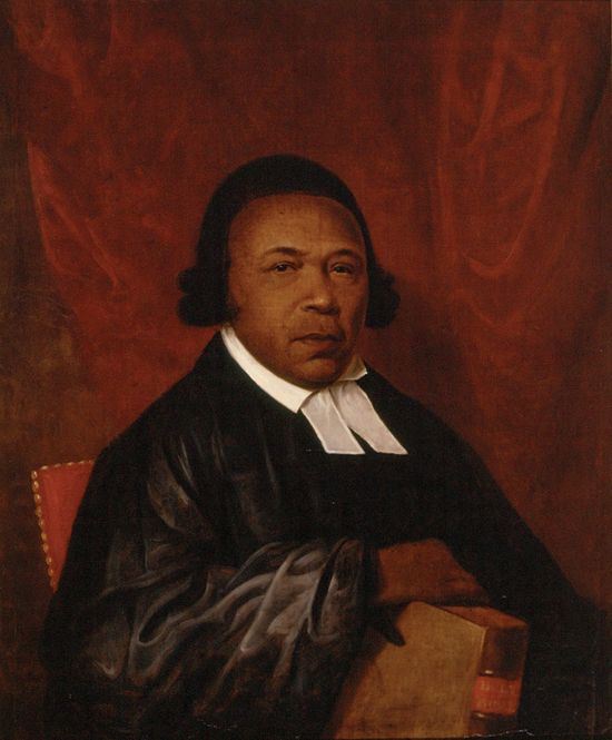 Raphaelle Peale. Portrait Of Absalom Jones