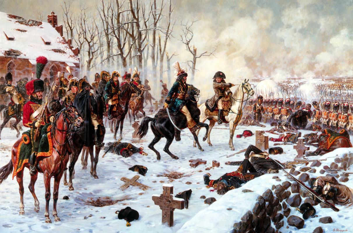 Alexander Yurievich Averyanov. The command post of Napoleon