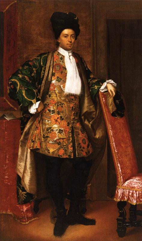 Витторе Гисланди. Портрет Вайлетти