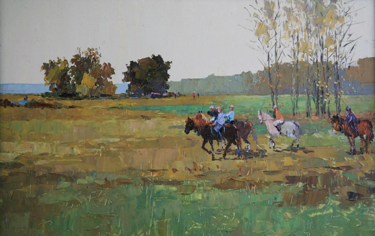 Boris Alexandrovich Chepkasov. Horses
