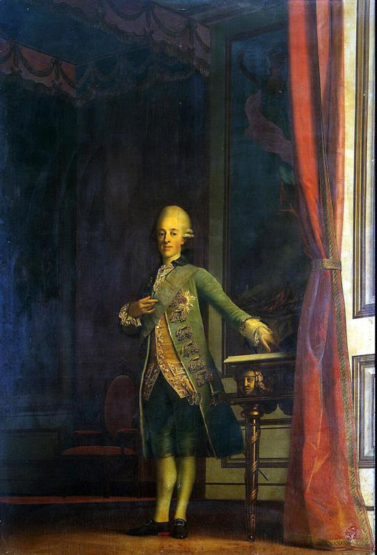 Виргилиус Эриксен. Портрет принца Фредерика