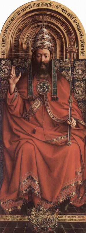 Губерт ван Эйк. Бог-Отец. Гентский алтарь